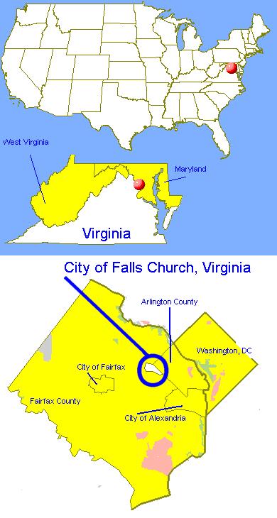 Falls Church Virginia Map.File Dc Falls Church Va Png Wikipedia