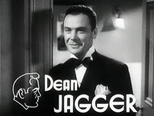 Dean Jagger American actor