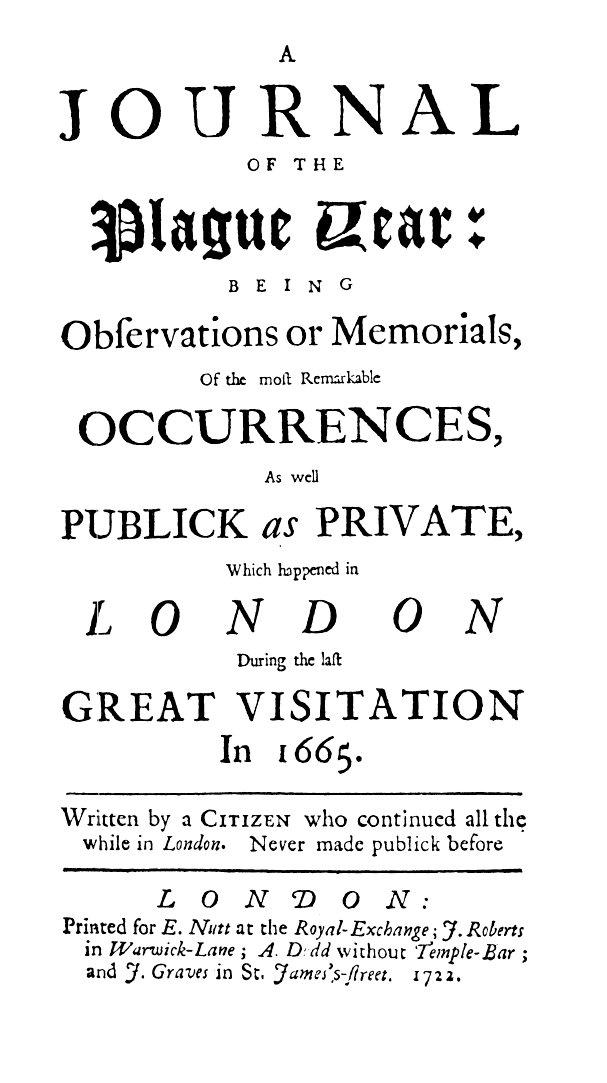 Defoe Journal of the Plague Year.jpg