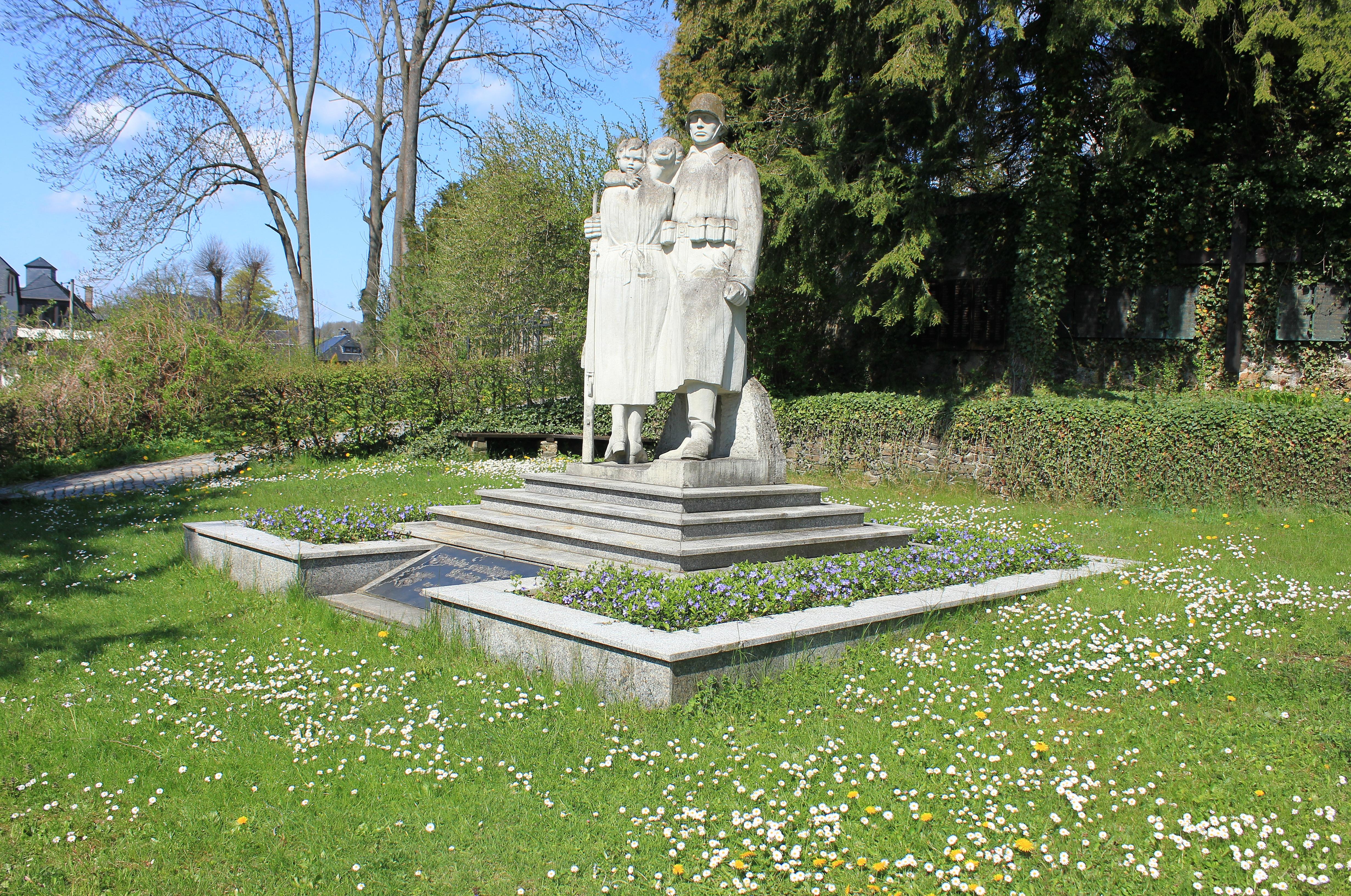 Dateidenkmal Zur Mahnung Und Zum Gedenken Der Opfer Beider