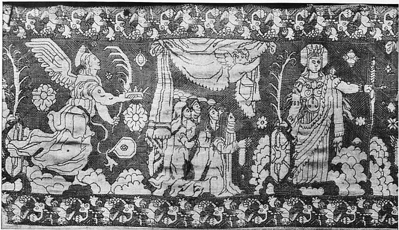 EB1911 Embroidery - Fig. 15.—PORTION OF THE BORDER OF A LINEN COVER.jpg