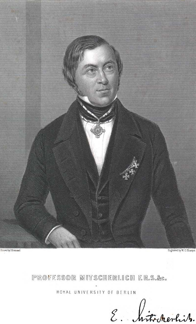 Eilhard Mitscherlich (1794-1863)
