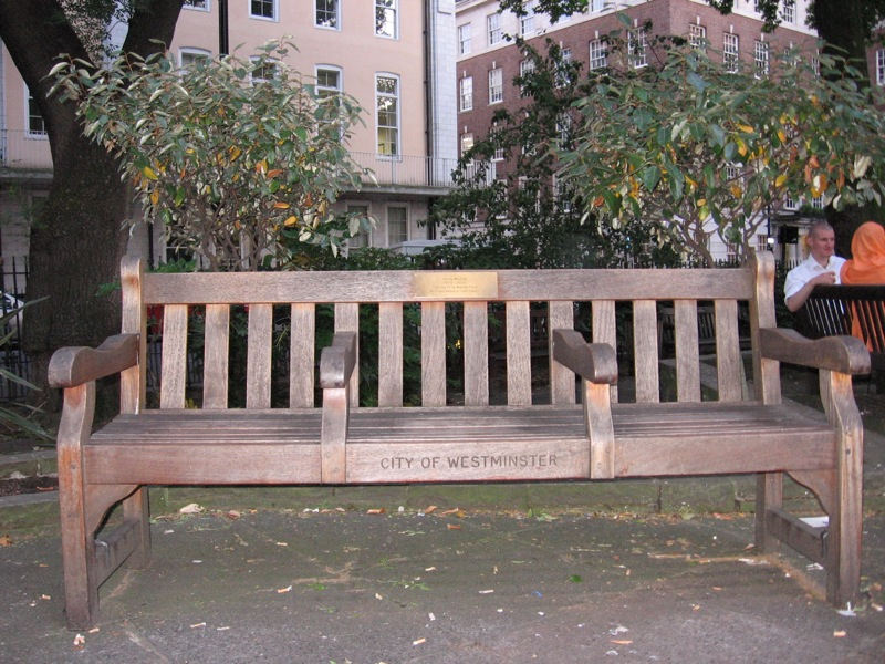 Memorial Bench Wikipedia