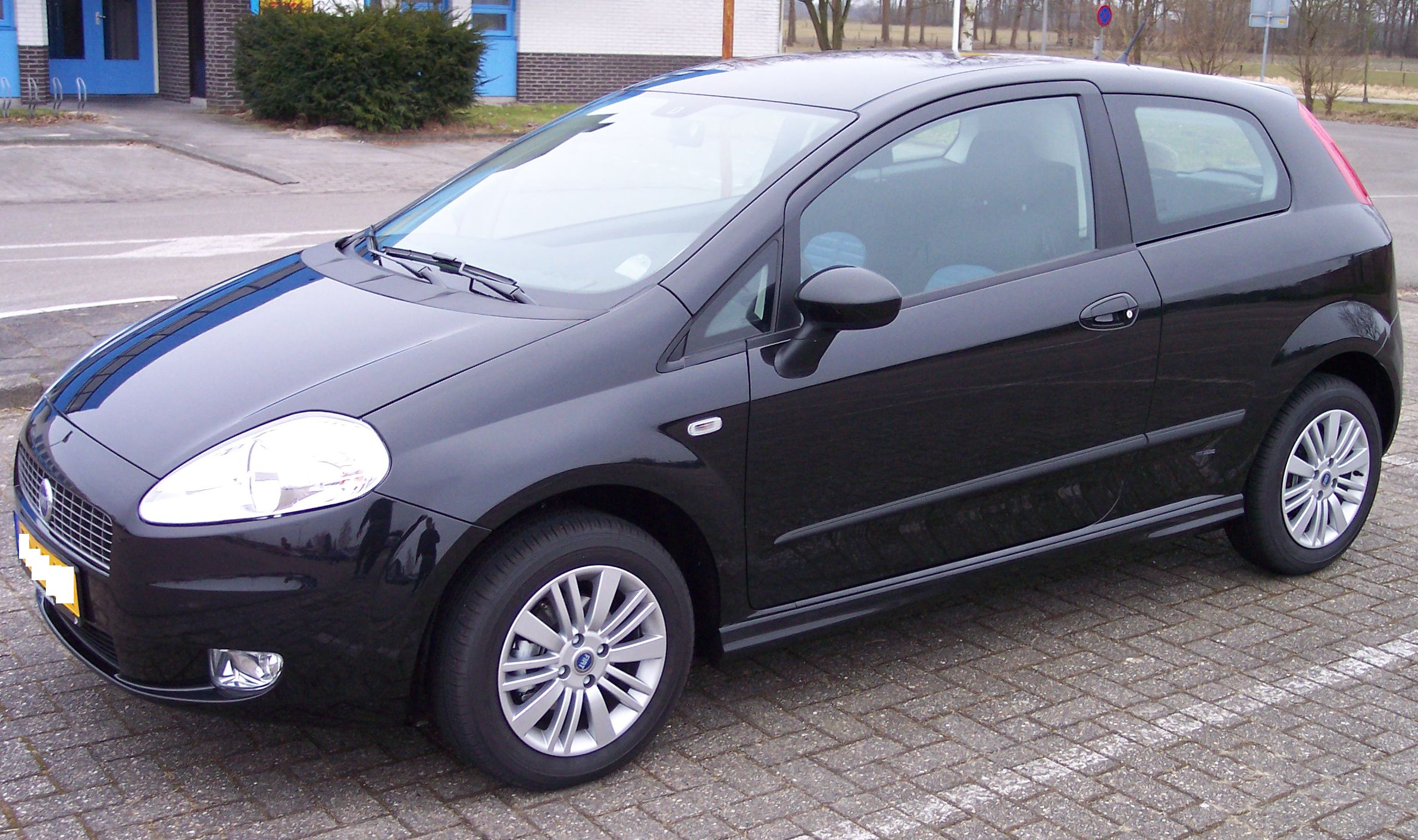 file fiat punto 2006 vl wikimedia commons. Black Bedroom Furniture Sets. Home Design Ideas