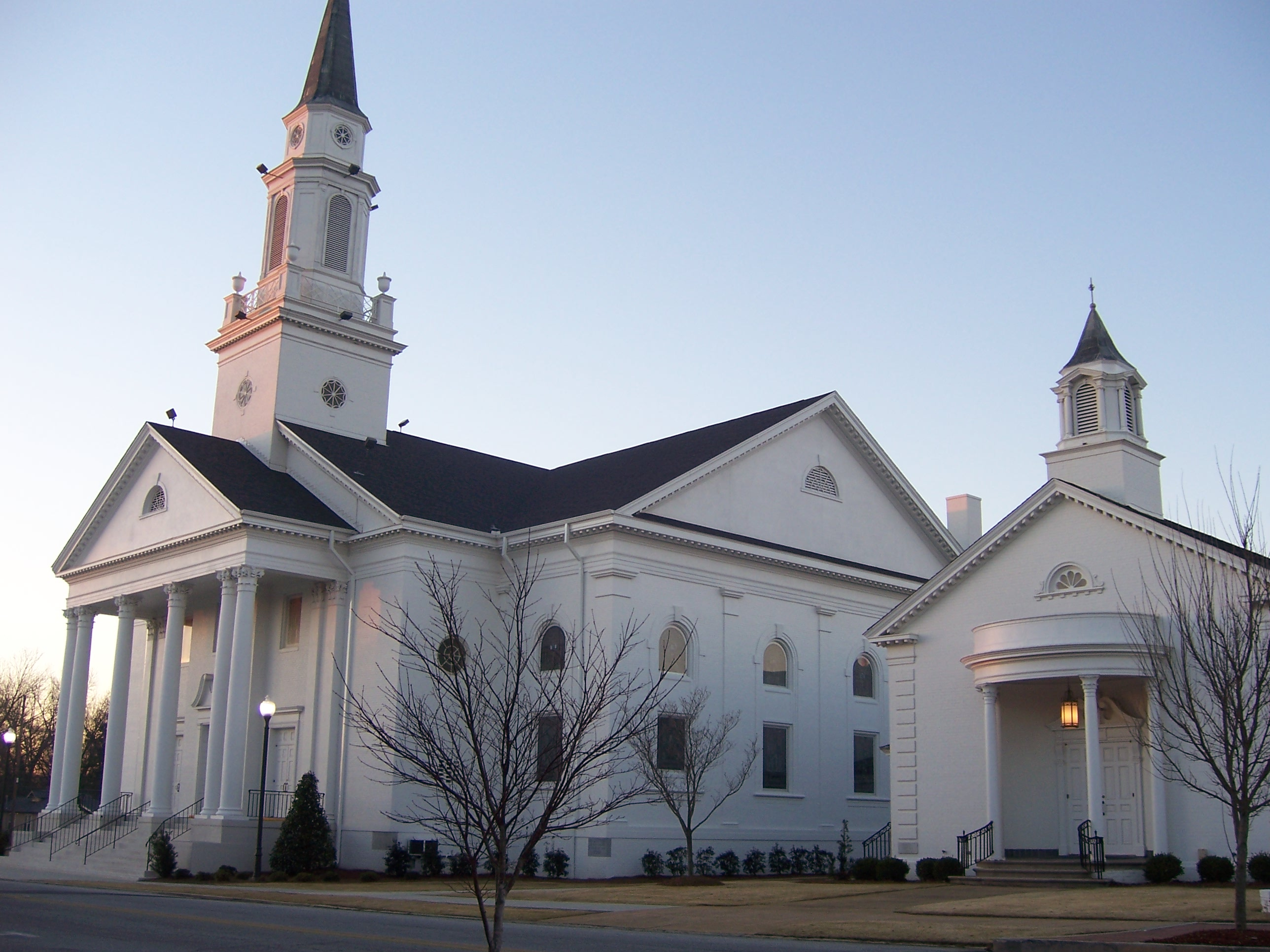 Baptist churches in alabama for First ch