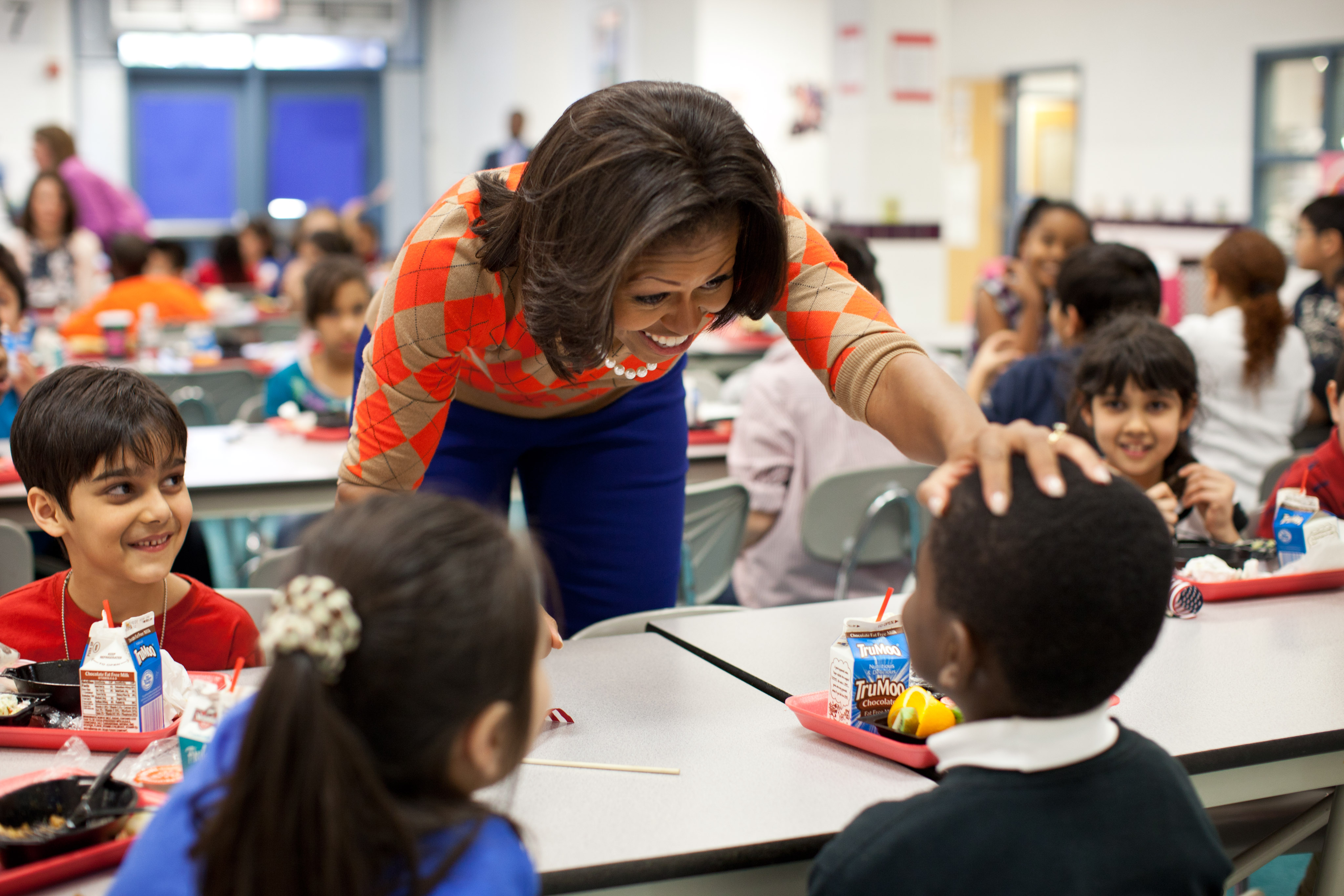 Image result for michelle obama school meals