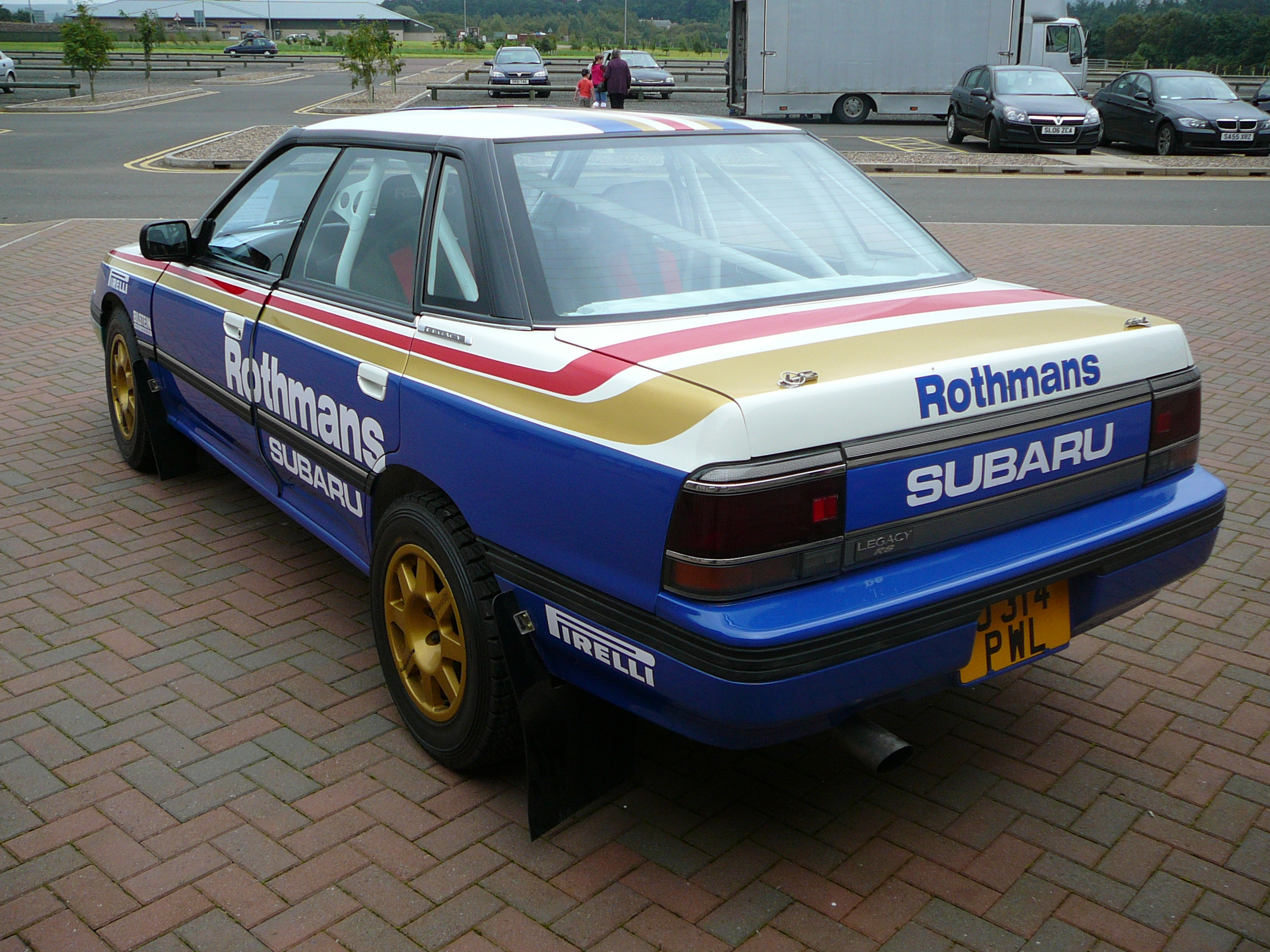 Rs Rally Car