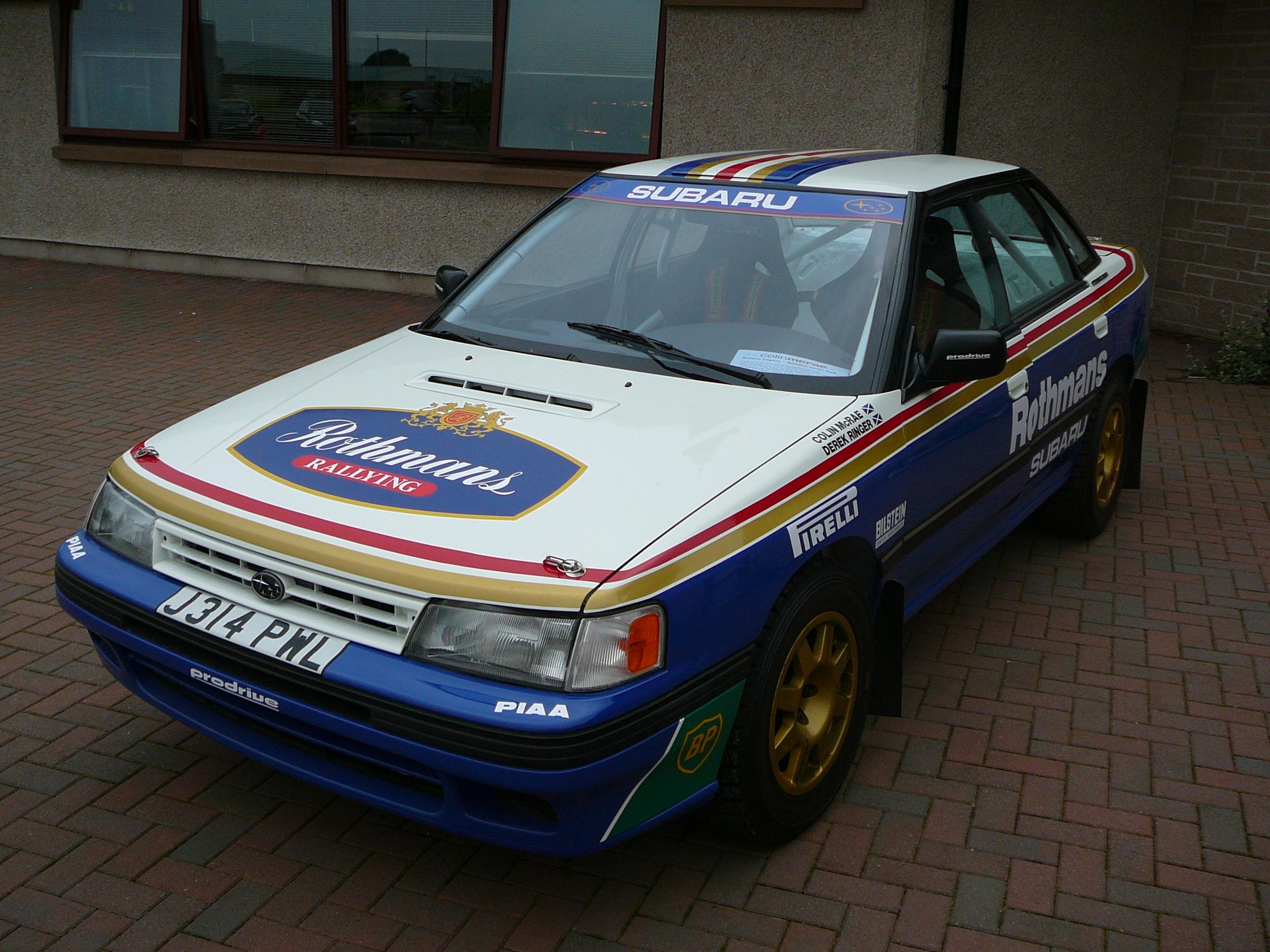 File Flickr Bjmullan Colin Mcrae S Subaru Legacy Rally Car 3