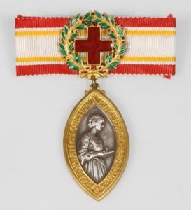 Florence Nightingale Medal Red Cross award