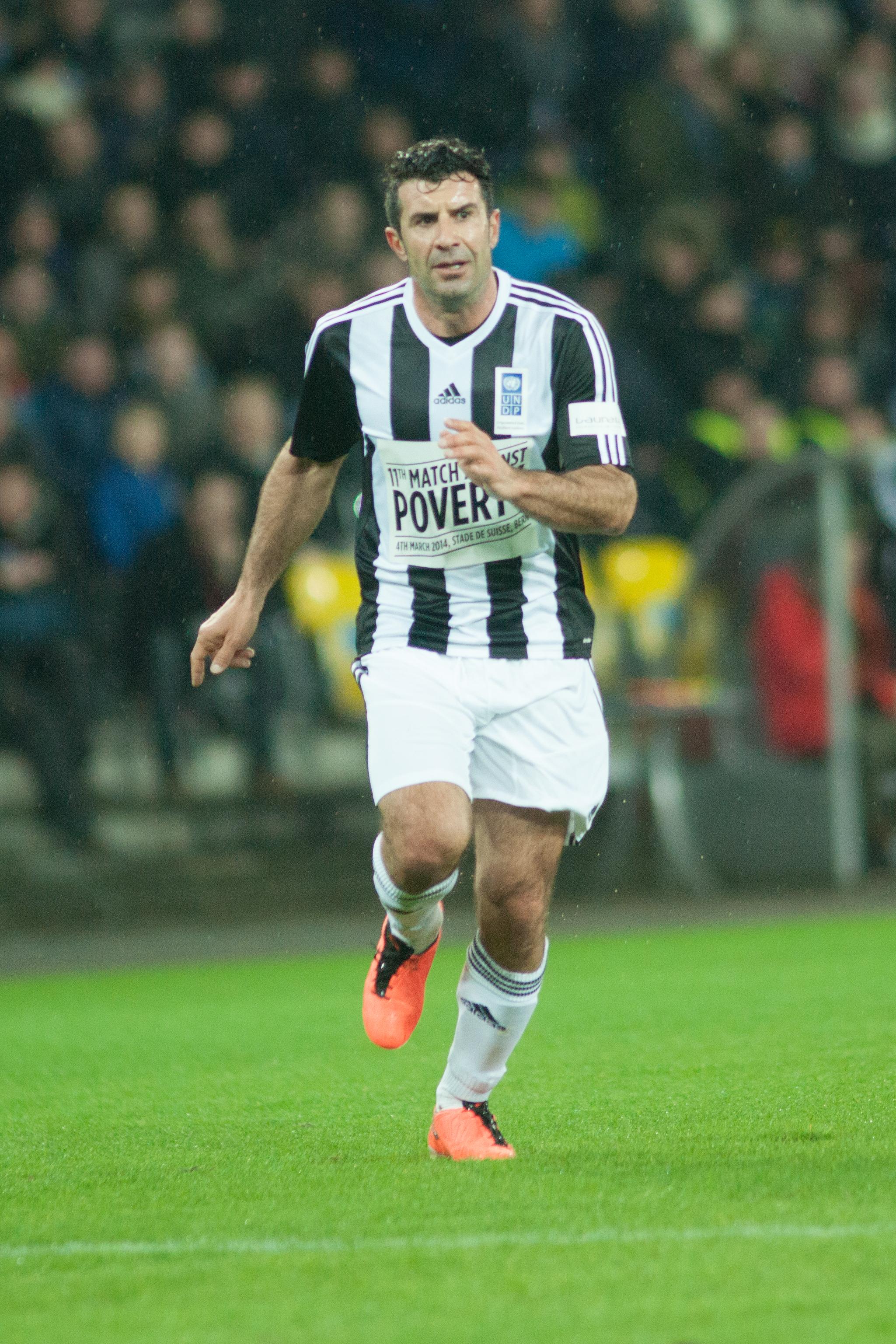 File Football against poverty 2014 Luis Figo 2 Wikimedia