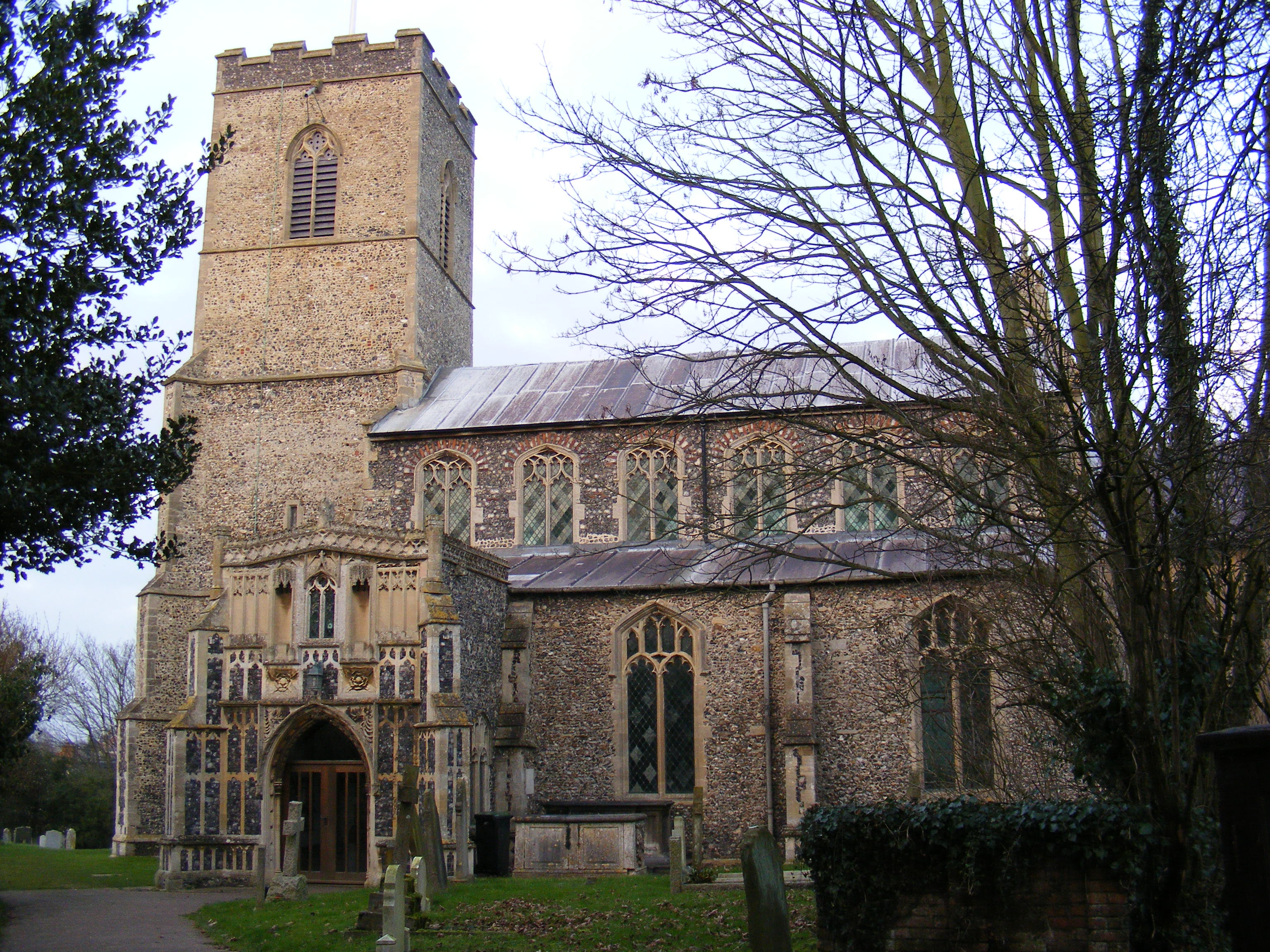 Fressingfield Church, Suffolk