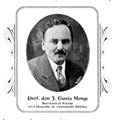 Joaquín García Monge in 1919