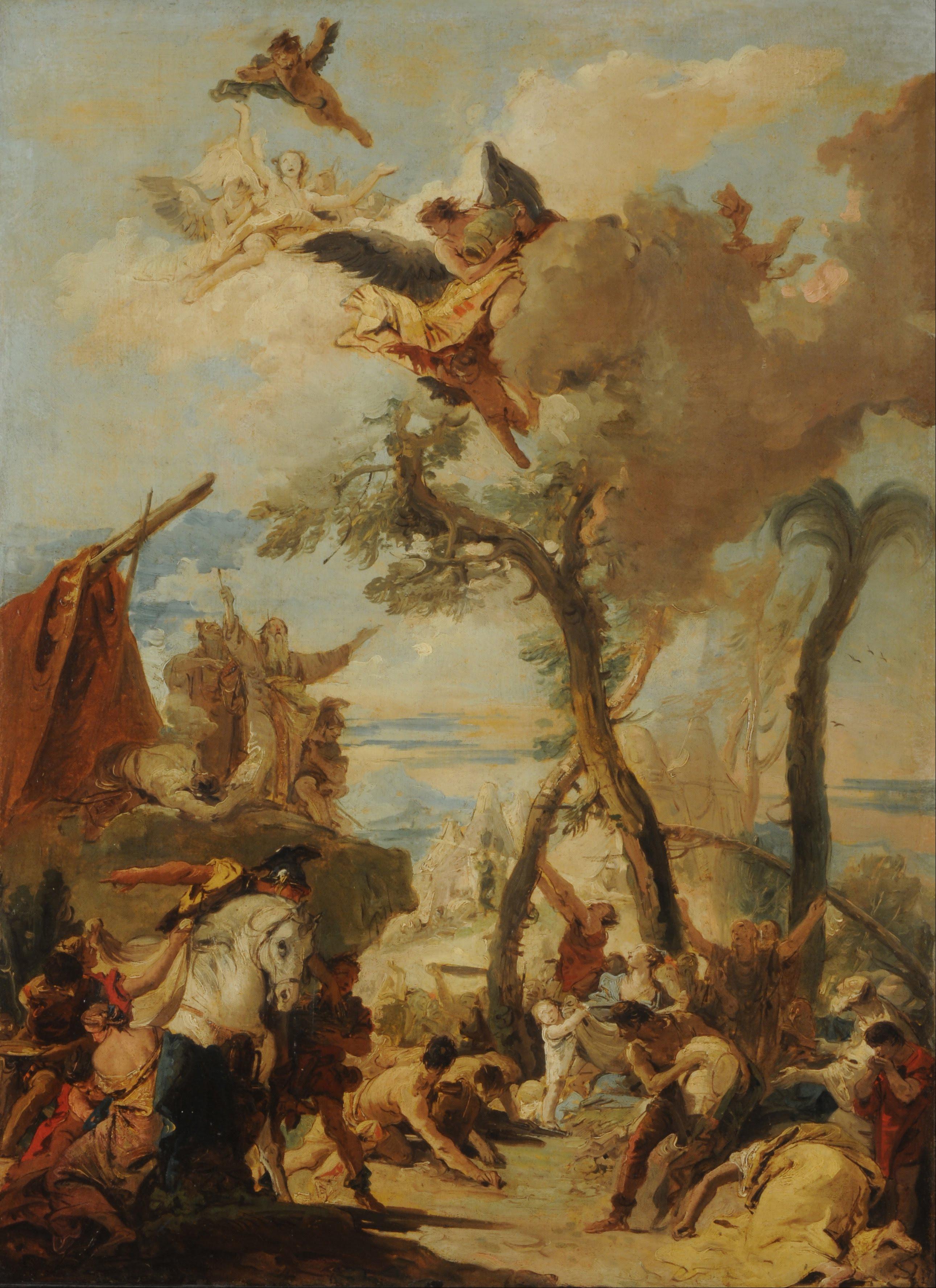 Depiction of Hebreos