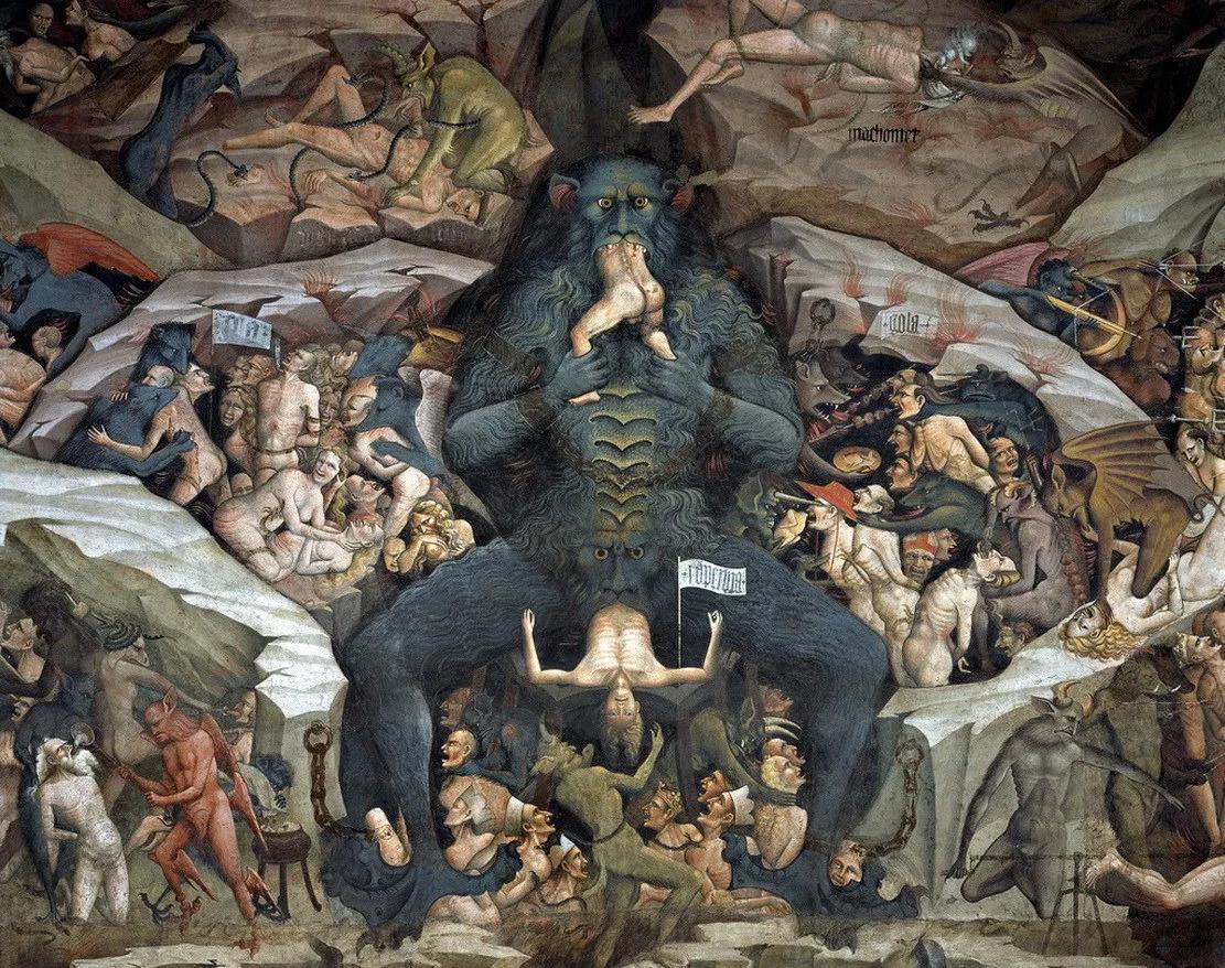 The Inferno (Giovanni de Modena) - Domingo com Limonada