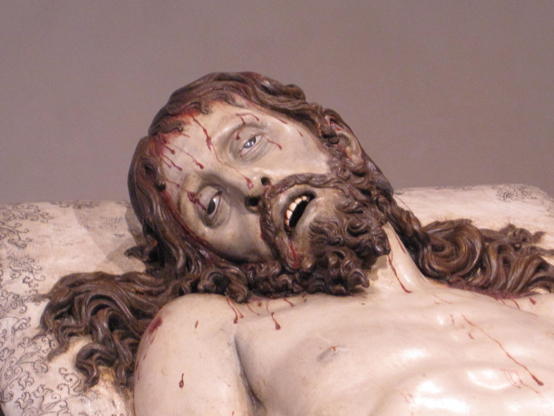 Description Gregorio Fernández, Cristo yacente, 1627 (detalle).jpg