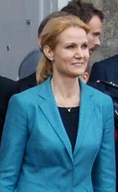 Thorning-Schmidt, October 2011, just after she was appointed Prime Minister - Helle Thorning-Schmidt