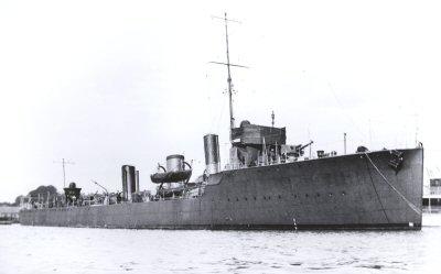 HMS Hardy in 1912