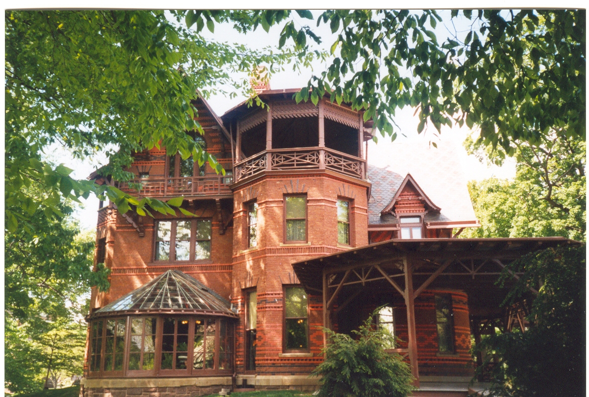 Mark twain house wikipedia for The hartford house