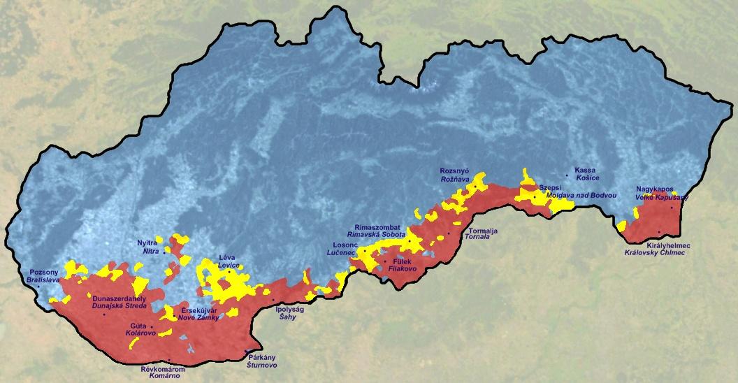 szlovákia látnivalók térkép Szlovákiai magyarok – Wikipédia szlovákia látnivalók térkép