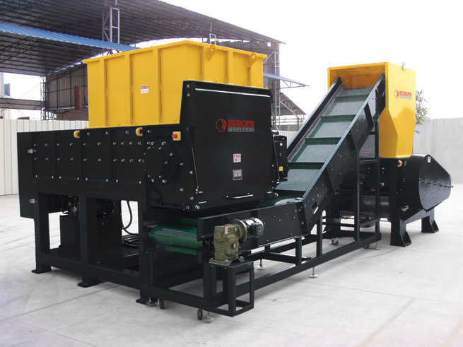 A big ugly industrial shredder. Photo from Wikimedia Commons.