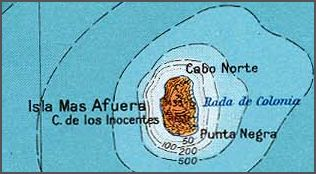 Alejandro Selkirk Island island of Chile
