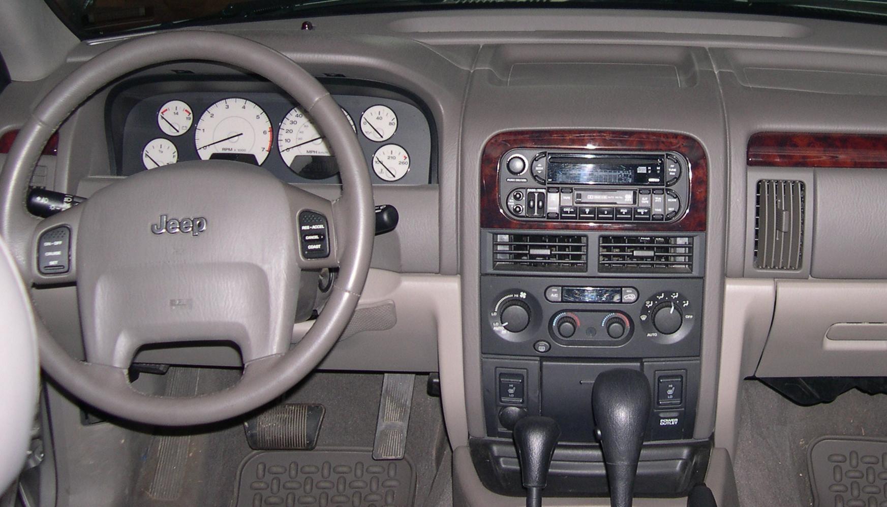File Jeep Grand Cherokee Wj Dash Jpg