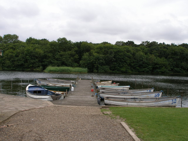 Jetty into Ormesby Little Broad - geograph.org.uk - 541426