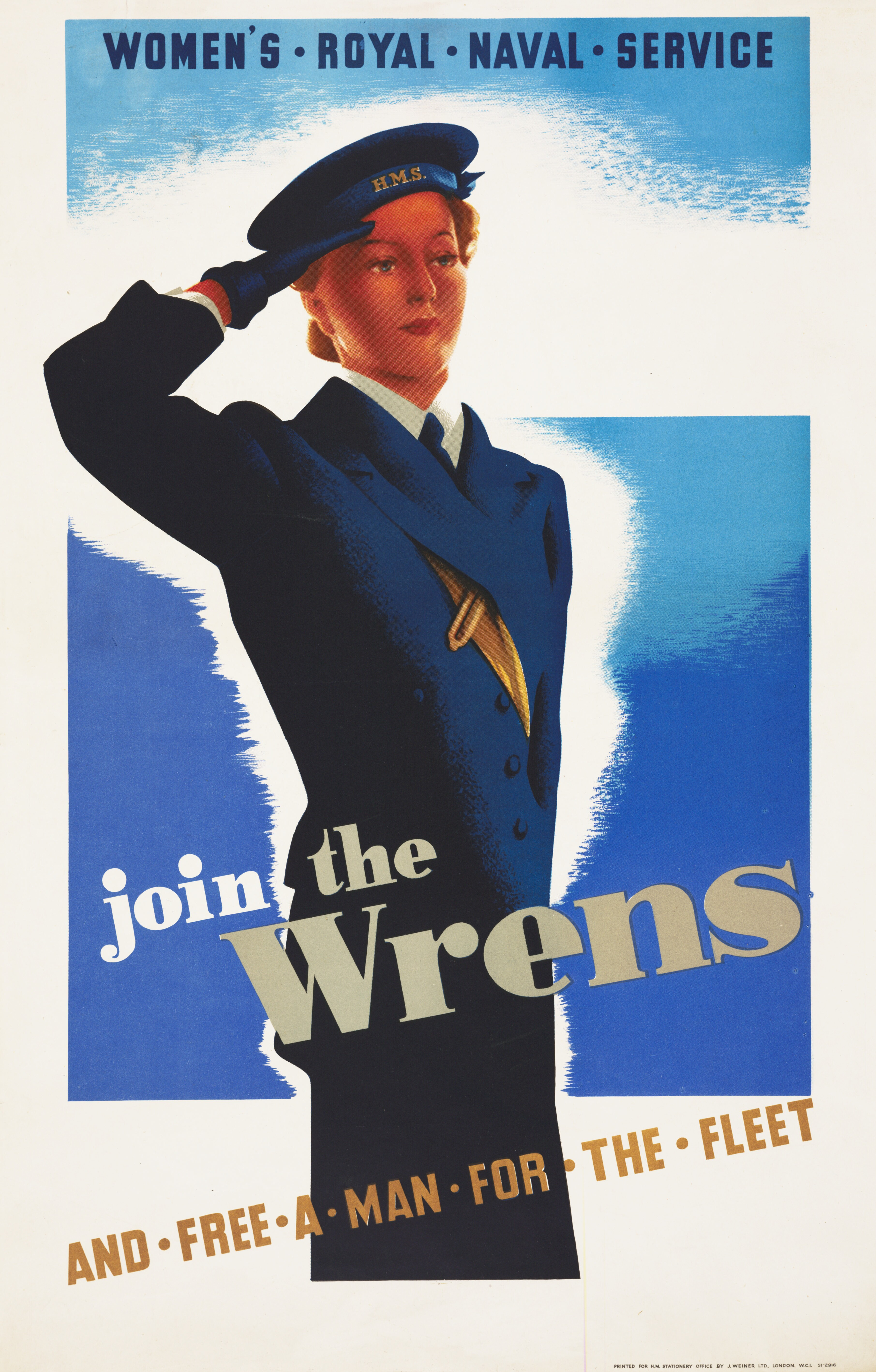 File:Join the Wrens - and Free a Man for the Fleet Art IWMPST8286