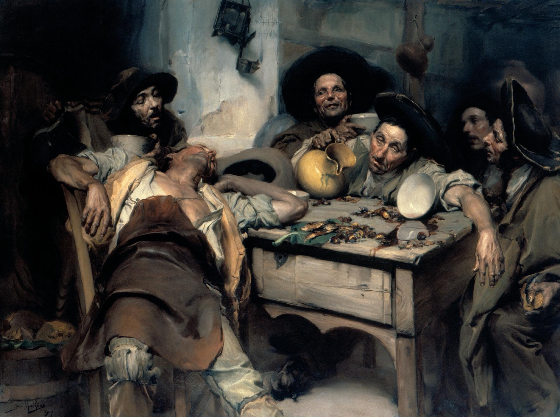 Malhoa, «Os Bêbados» (1907)