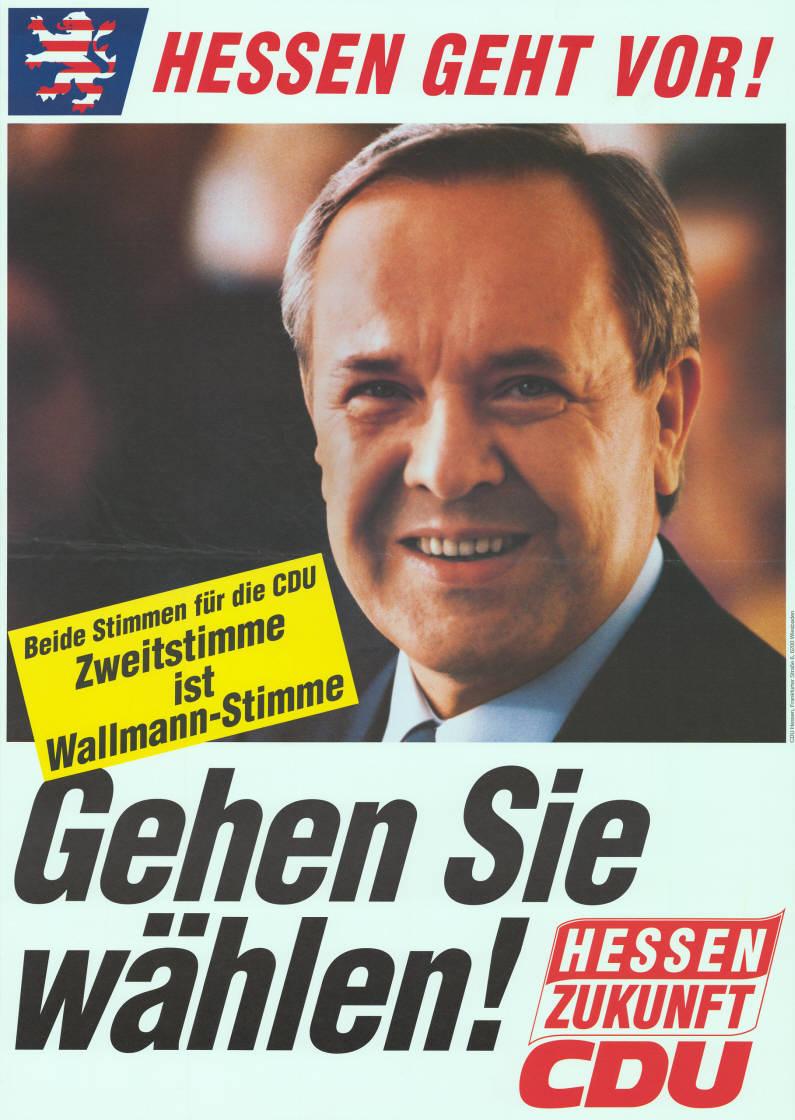 Wahlplakat 1991 Cdu