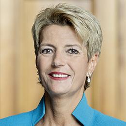 Karin Keller-Sutter Swiss Politician