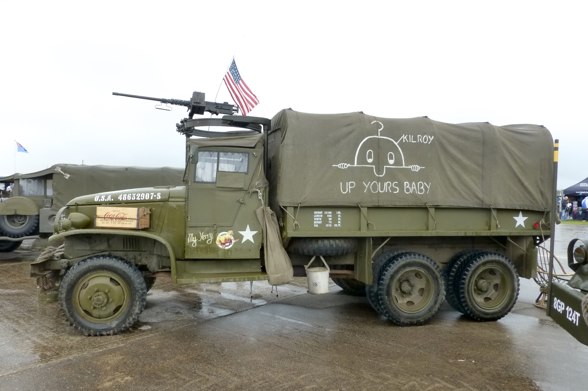File Kilroy On Army Truck Jpg Wikimedia Commons