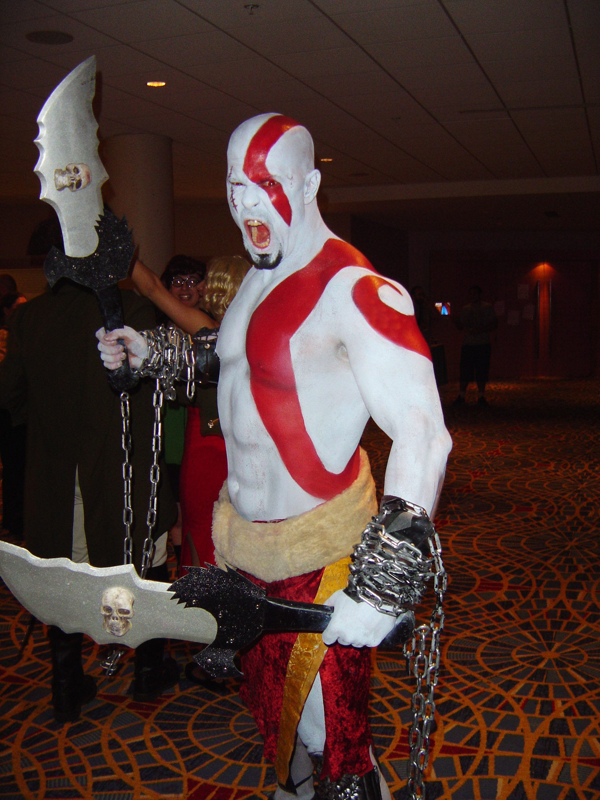 Descripci  N Kratos  God Of War
