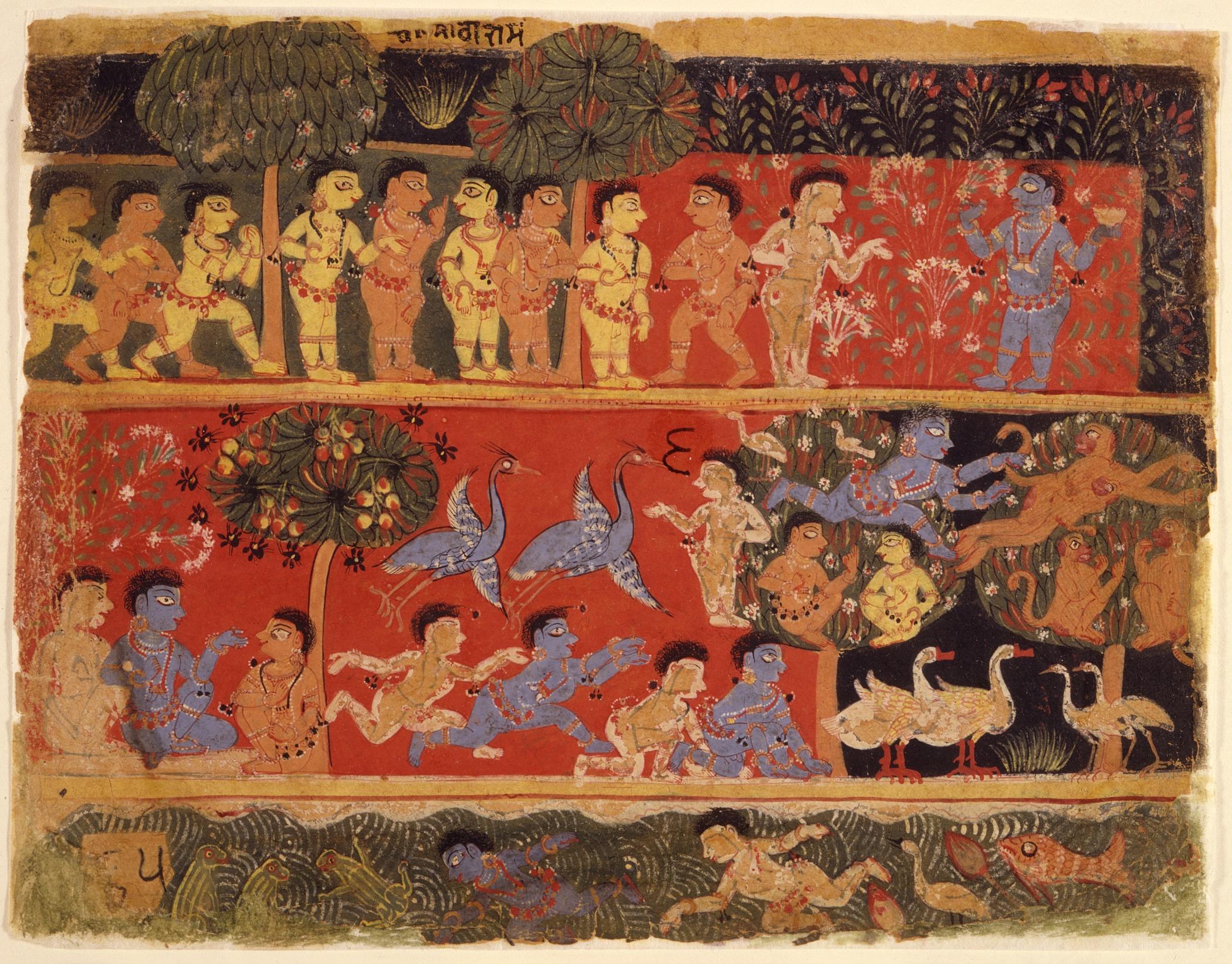 File Krishna And Balarama Play With Gopas Folio From A