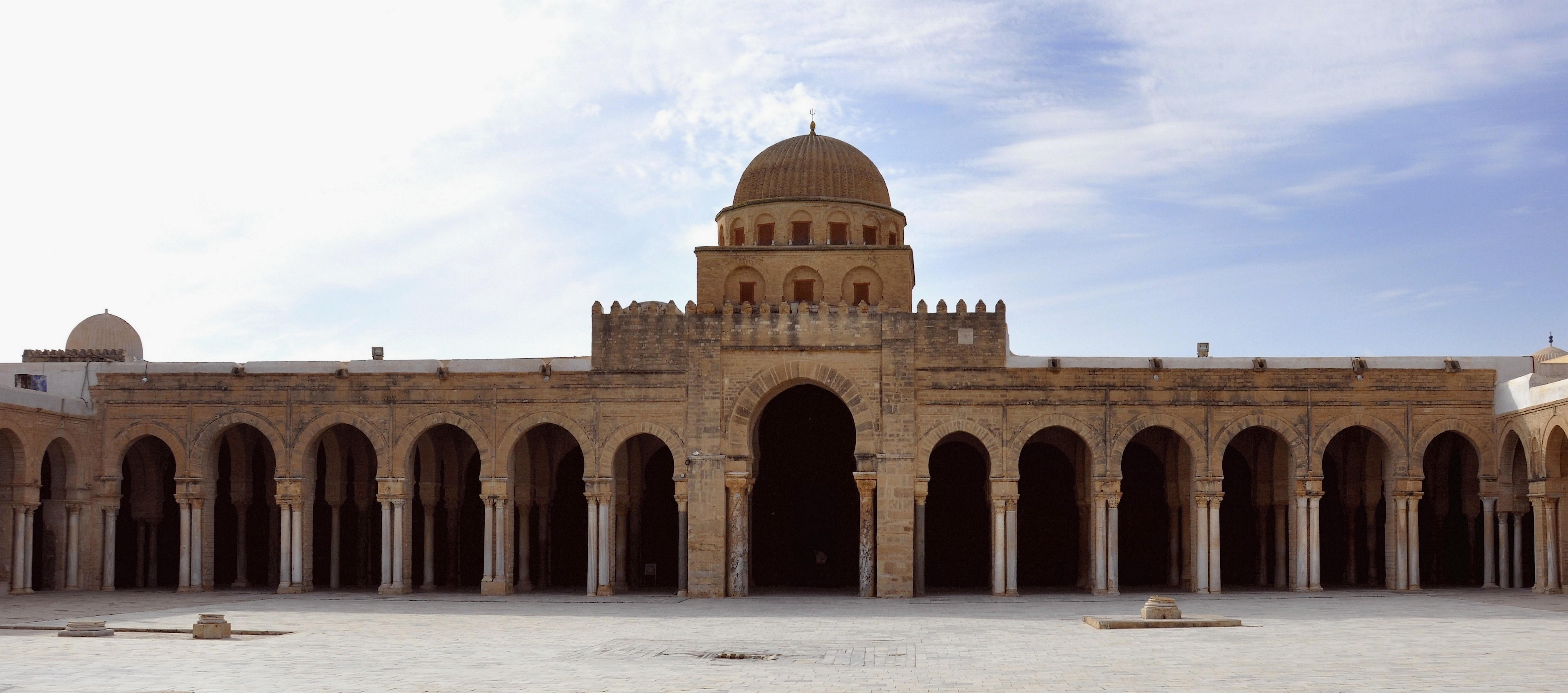 Fichier la grande mosqu e de kairouan fa ade du portique for Architecture 18e siecle france