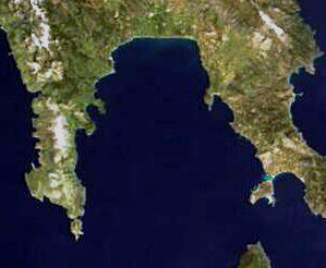 Laconian Gulf gulf in the south-eastern Peloponnese, in Greece