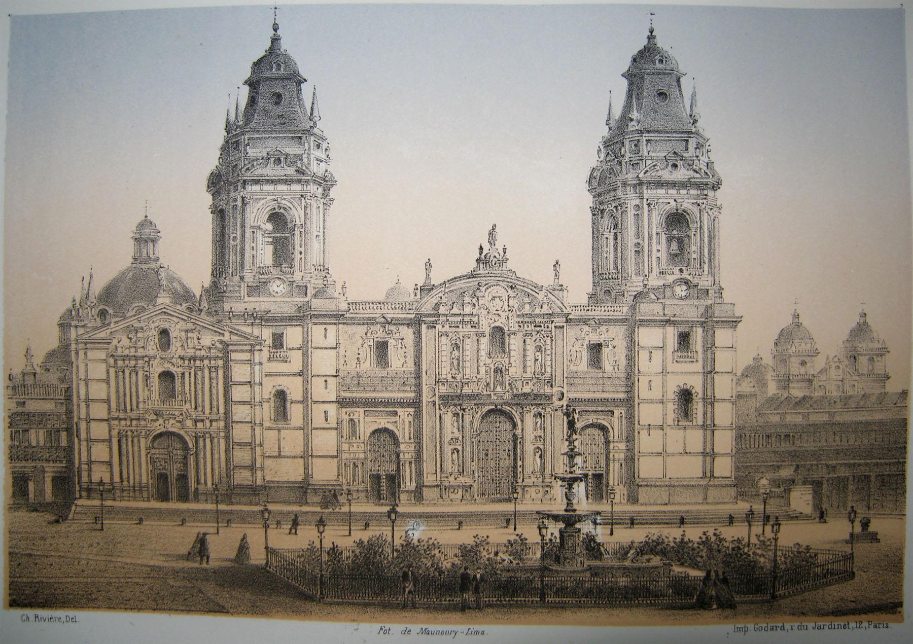 La lima antigua siglos xix y xx ciencia y educaci n - Construcciones san martin ...