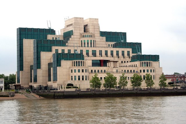 MI6 Headquarters, nr. Vauxhall Bridge - geograph.org.uk - 1603101