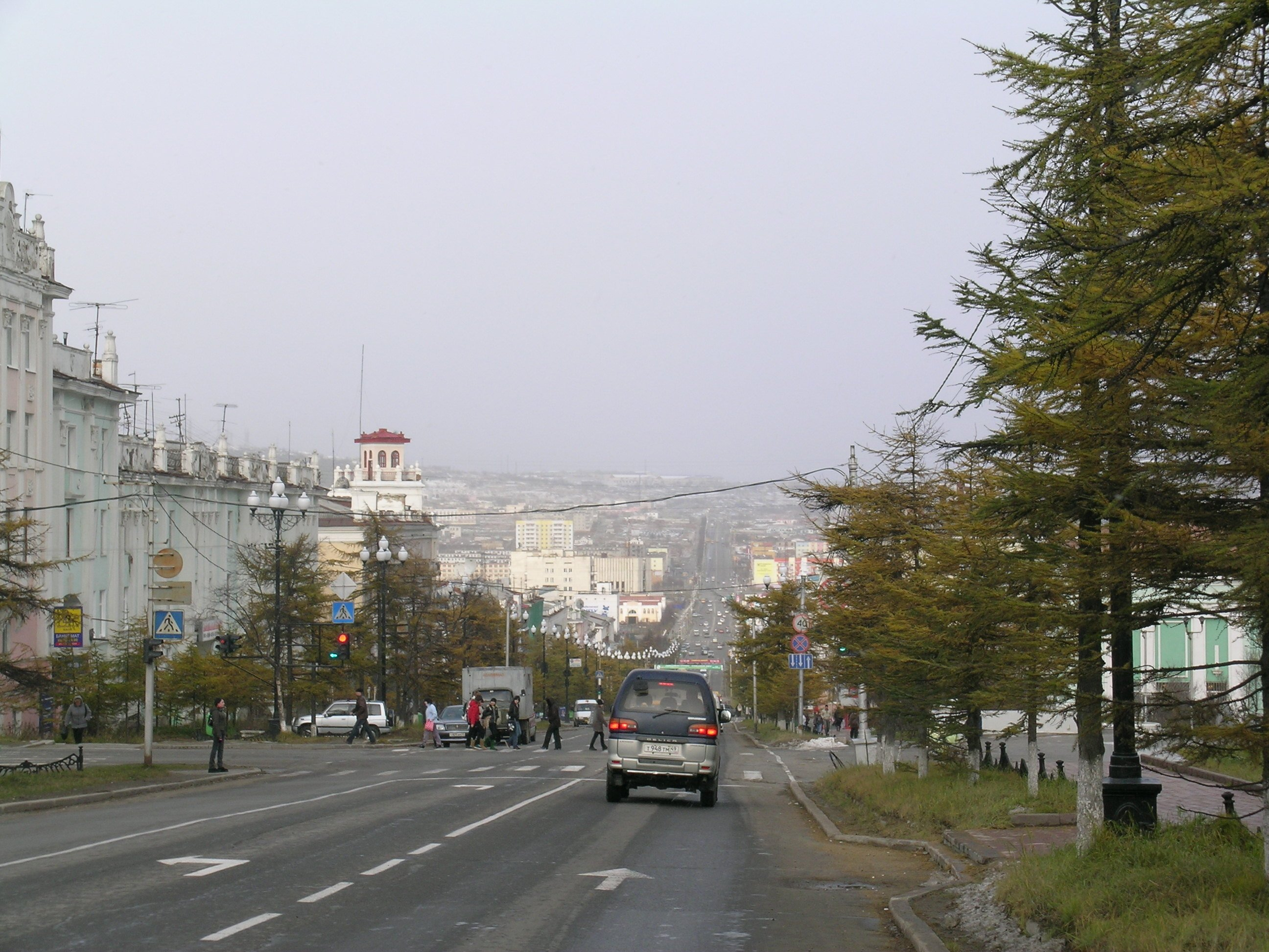 economy of magadan