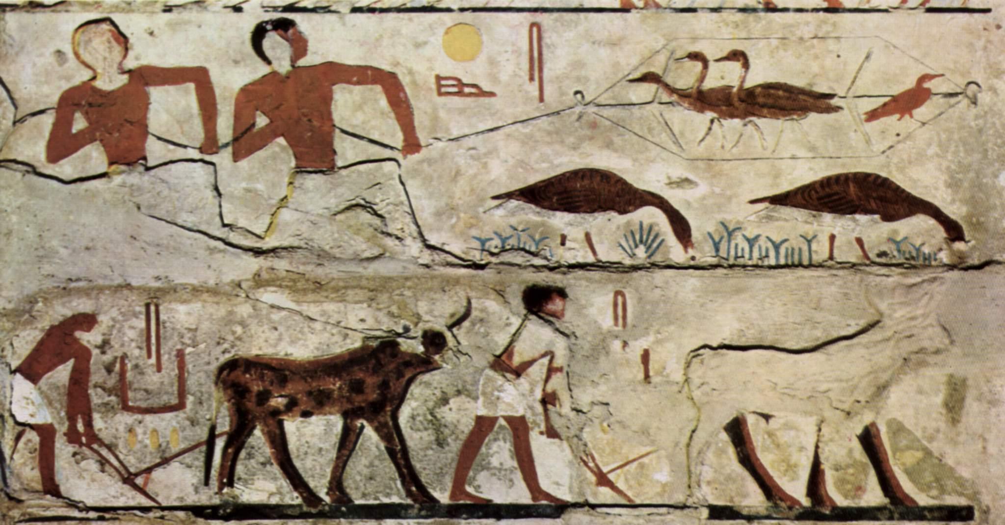 Luz y color pintura egipcia - Color y pintura ...