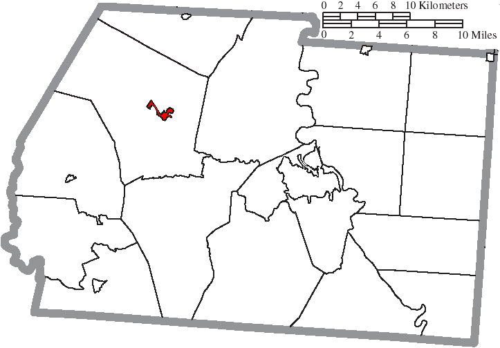 File Map Of Ross County Ohio Highlighting Frankfort Village Png