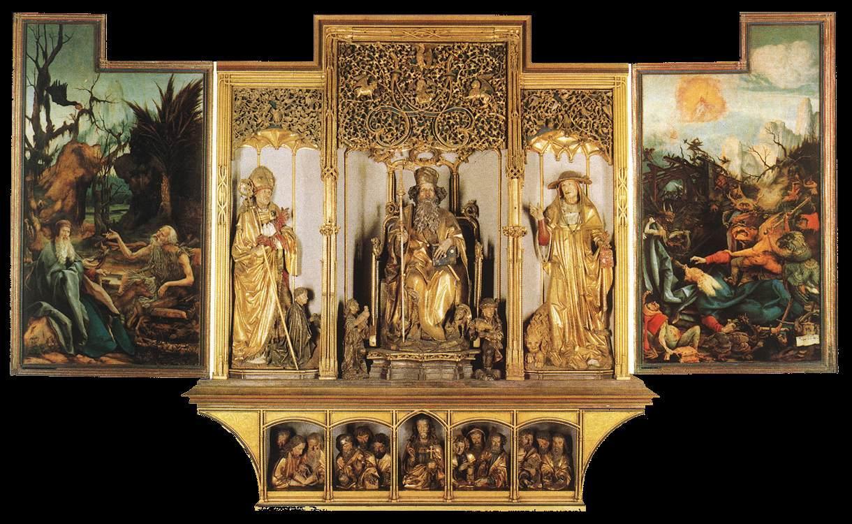 Matthias Grünewald - Isenheim Altarpiece (third view) - WGA10758.jpg