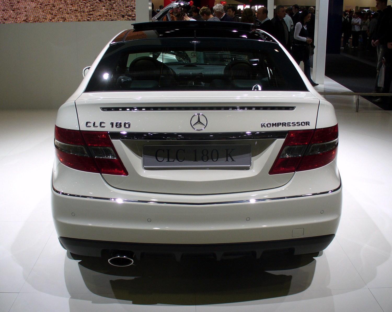 Mercedes Benz Clc  Kompressor