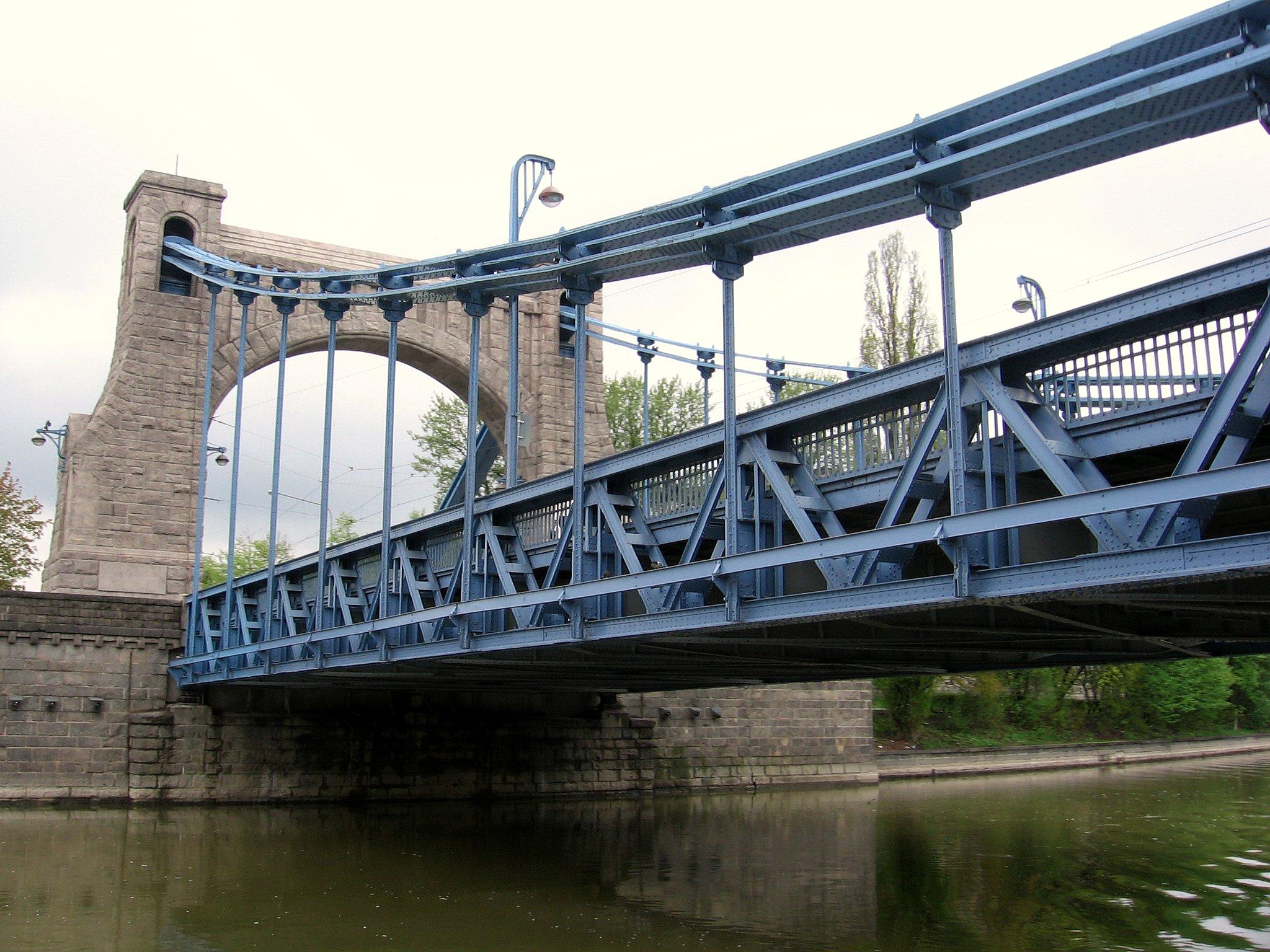 Most Grunwaldzki (Kaiserbrücke)