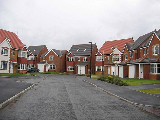 Housing Estate - geograph.org.uk - 466911