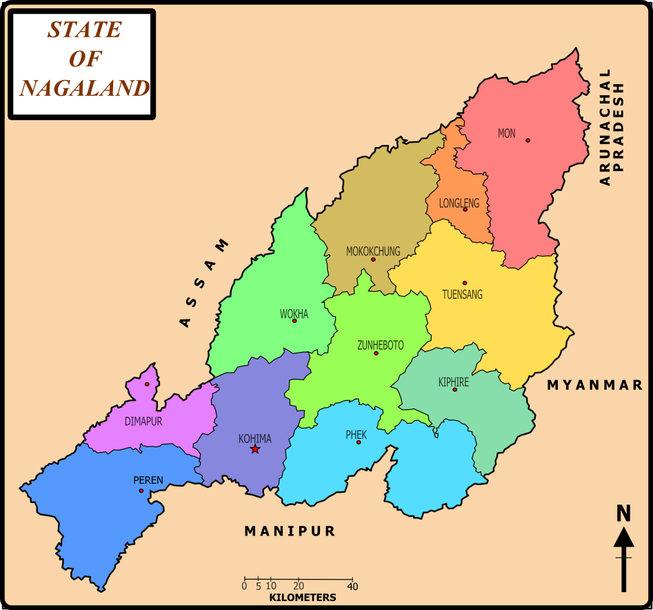 List of districts of Nagaland - Wikipedia