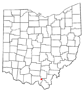 Location of South Webster, Ohio