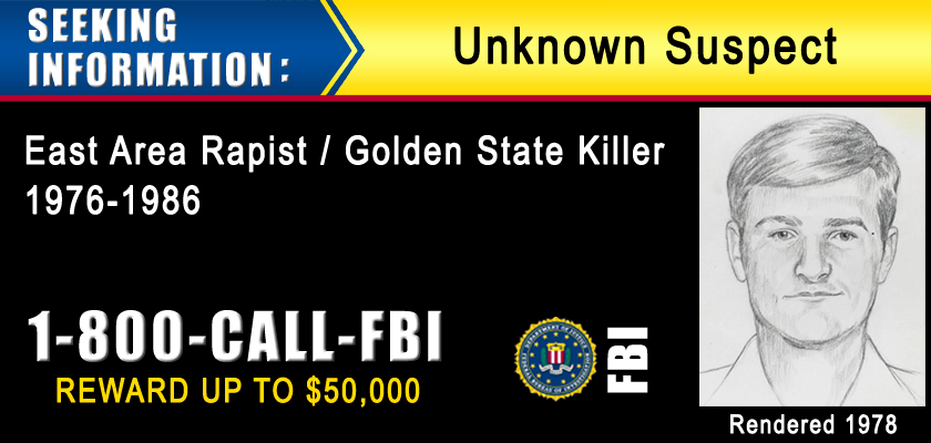 Bilderesultat for Golden state killer