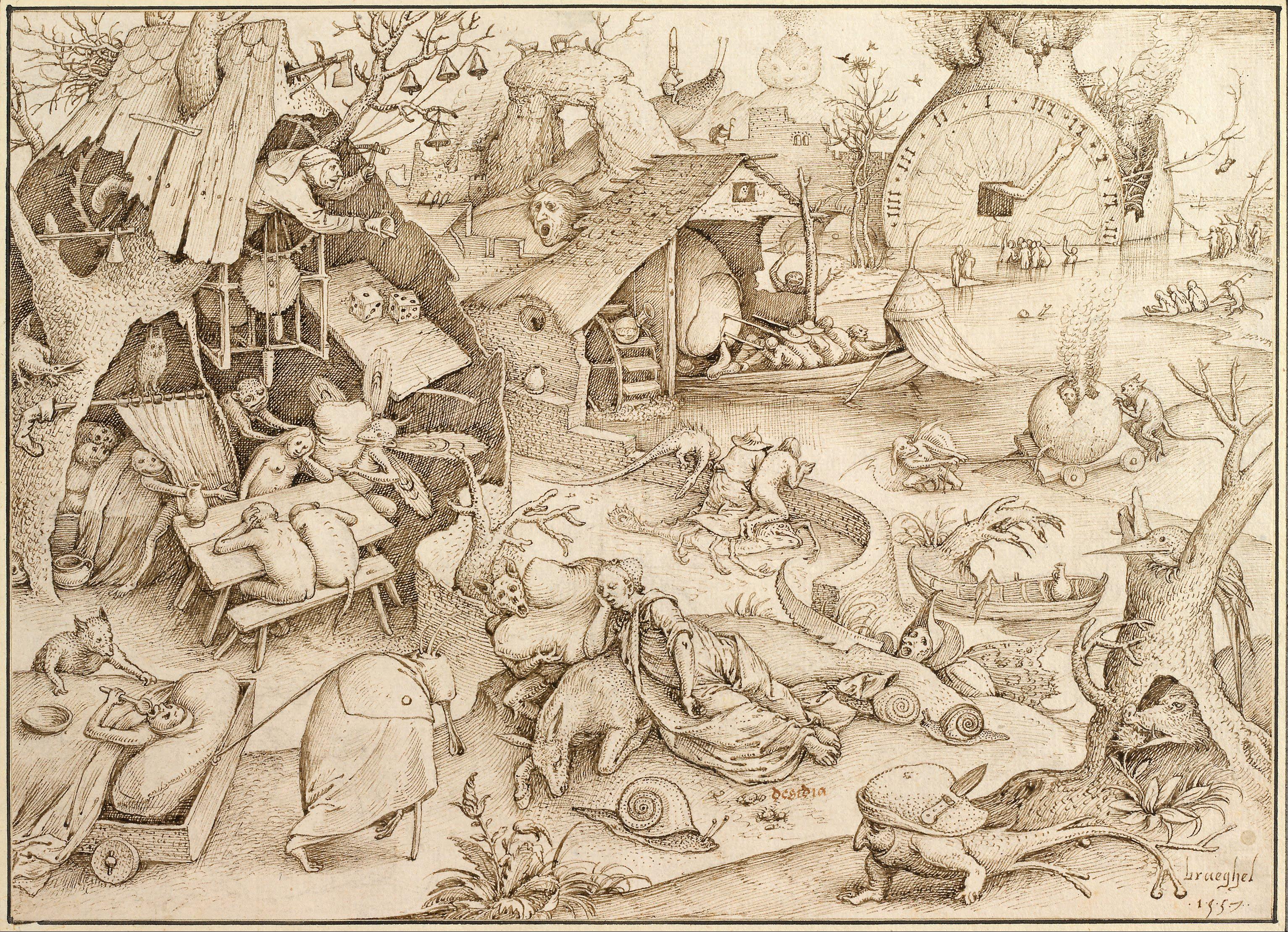 https://upload.wikimedia.org/wikipedia/commons/3/30/Pieter_Bruegel_the_Elder_-_Desidia_%28Sloth%29%2C_1557_-_Google_Art_Project.jpg