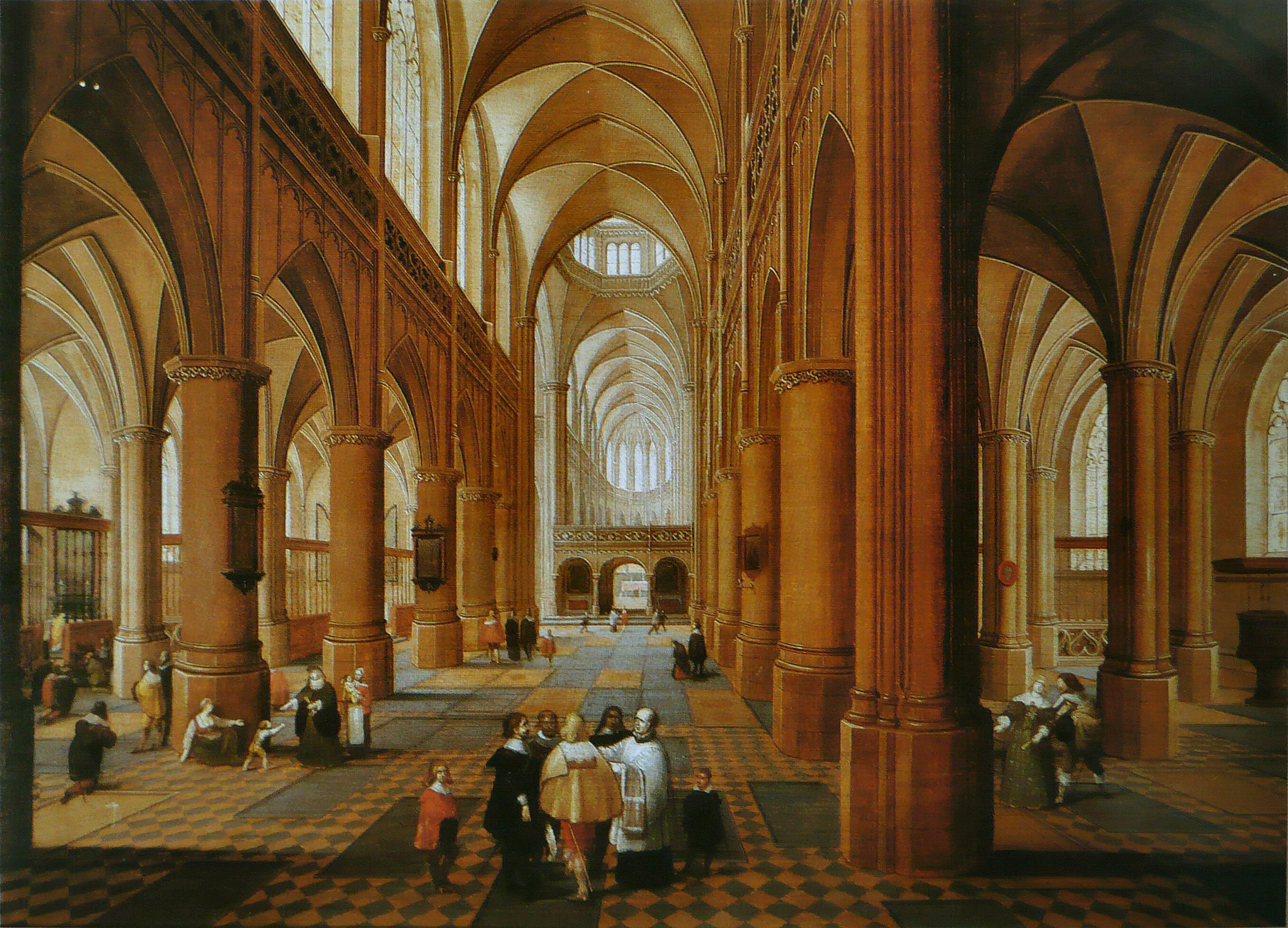 File pieter neefs i int rieur d 39 wikimedia for Interieur eglise